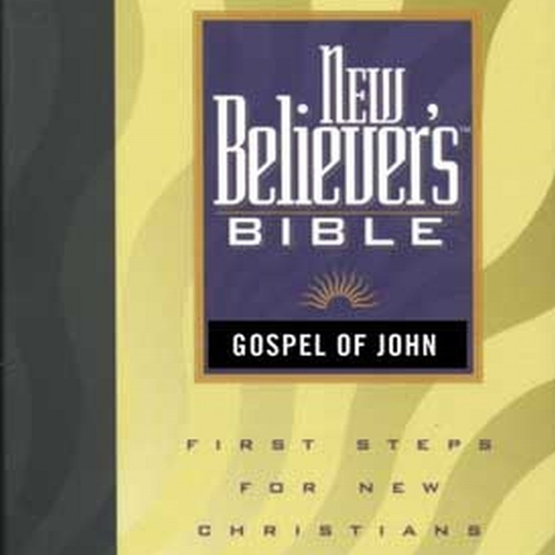 Printable New Believer's Bible: Gospel of John Audiobook Cover Art