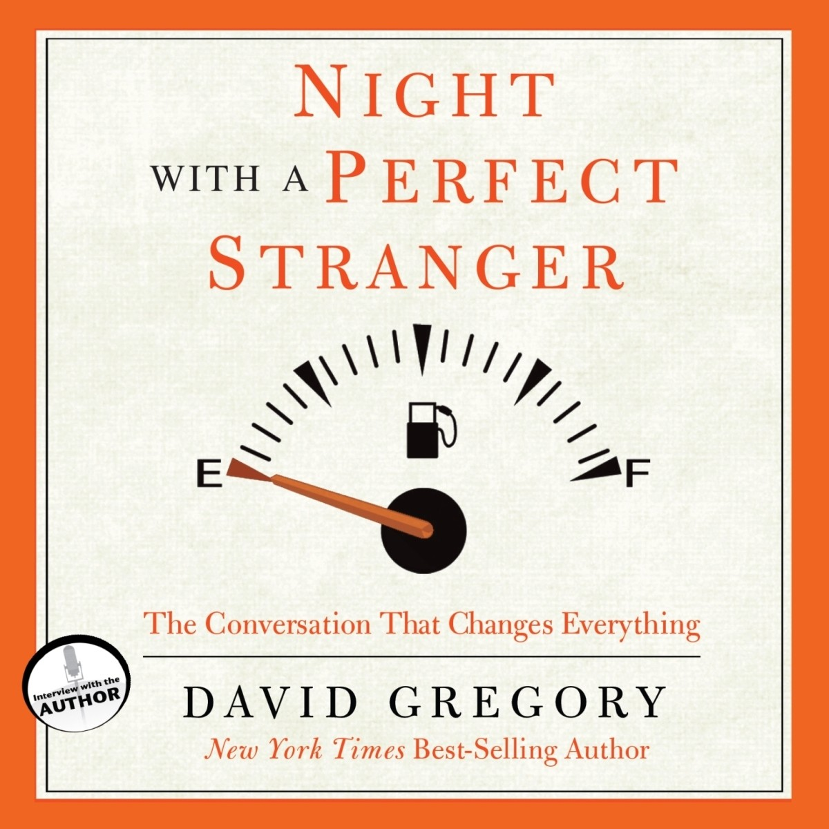 Printable Night with a Perfect Stranger: The Conversation That Changes Everything Audiobook Cover Art