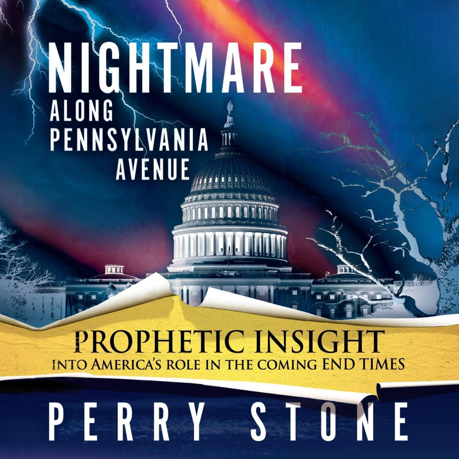 Printable Nightmare along Pennsylvania Avenue Audiobook Cover Art