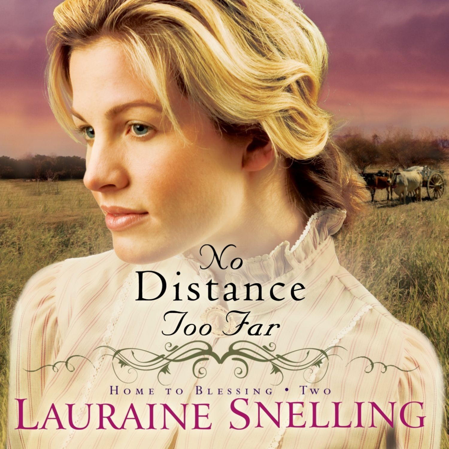 Printable No Distance Too Far Audiobook Cover Art