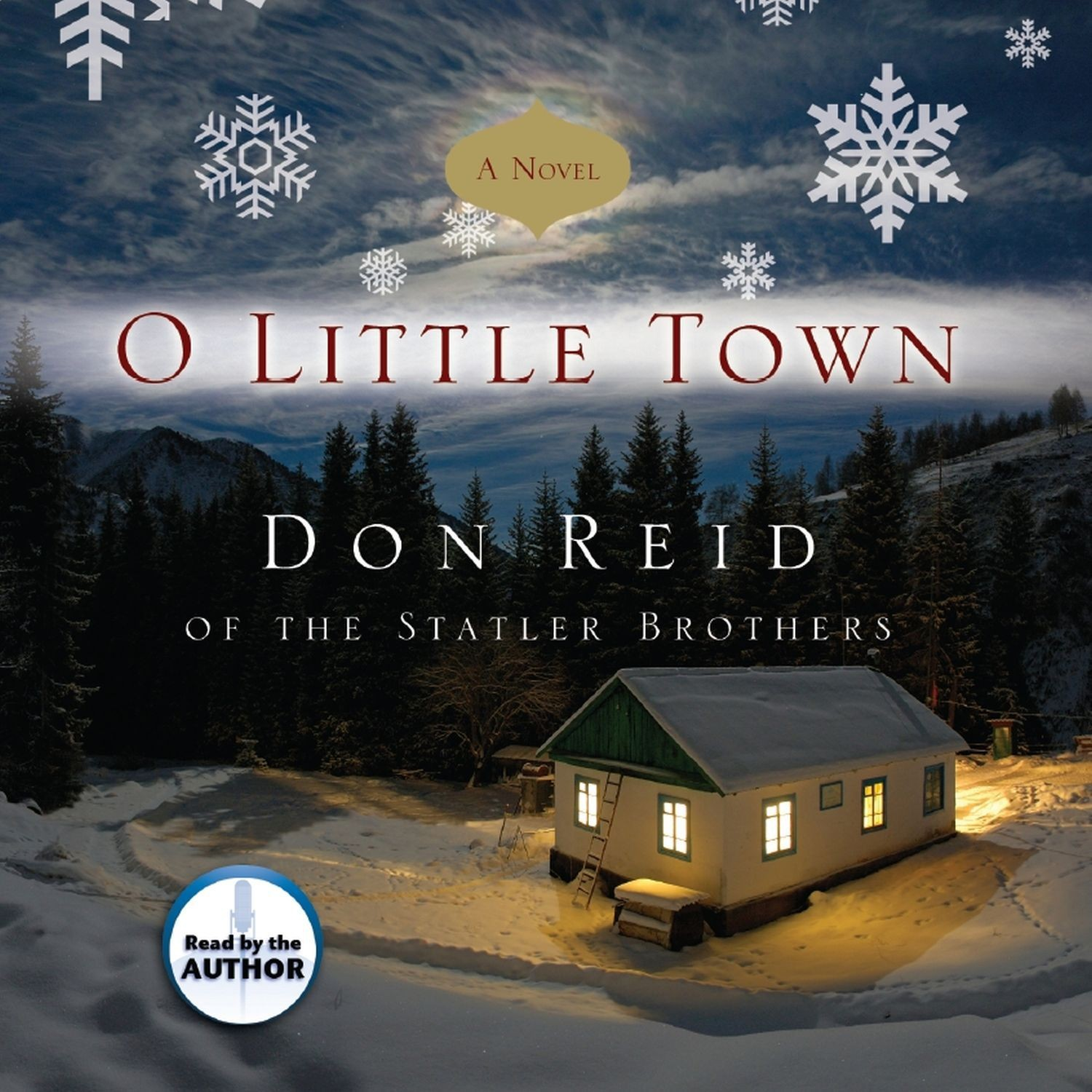 Printable O Little Town Audiobook Cover Art