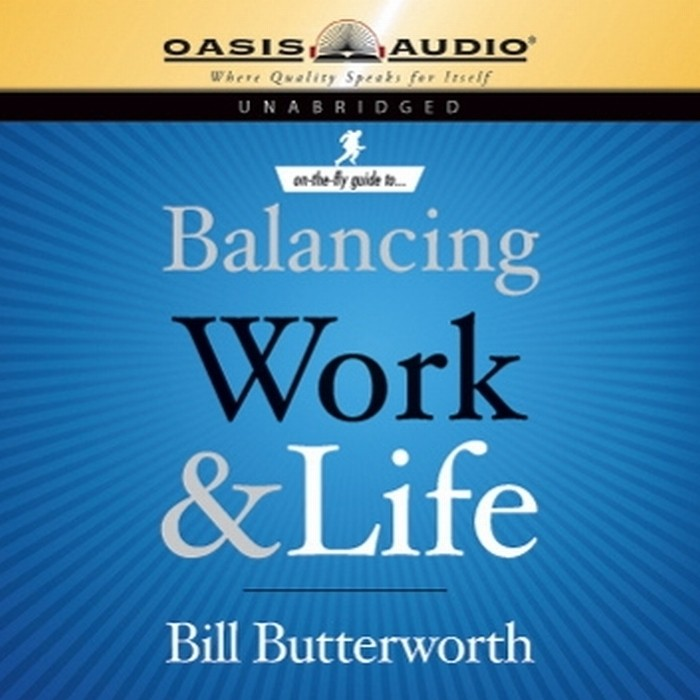 Printable On the Fly Guide to Balancing Work and Life Audiobook Cover Art