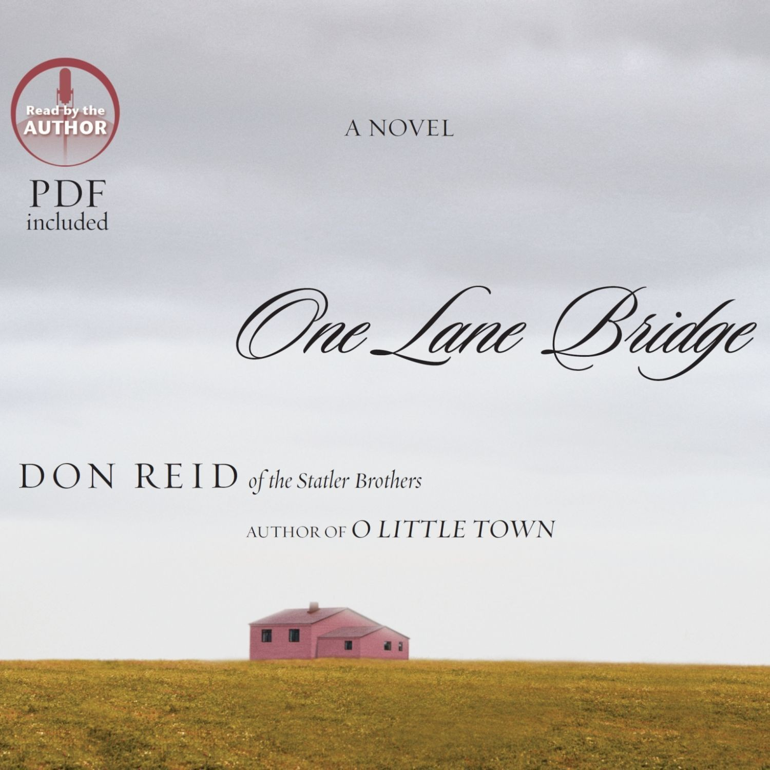 Printable One Lane Bridge: A Novel Audiobook Cover Art