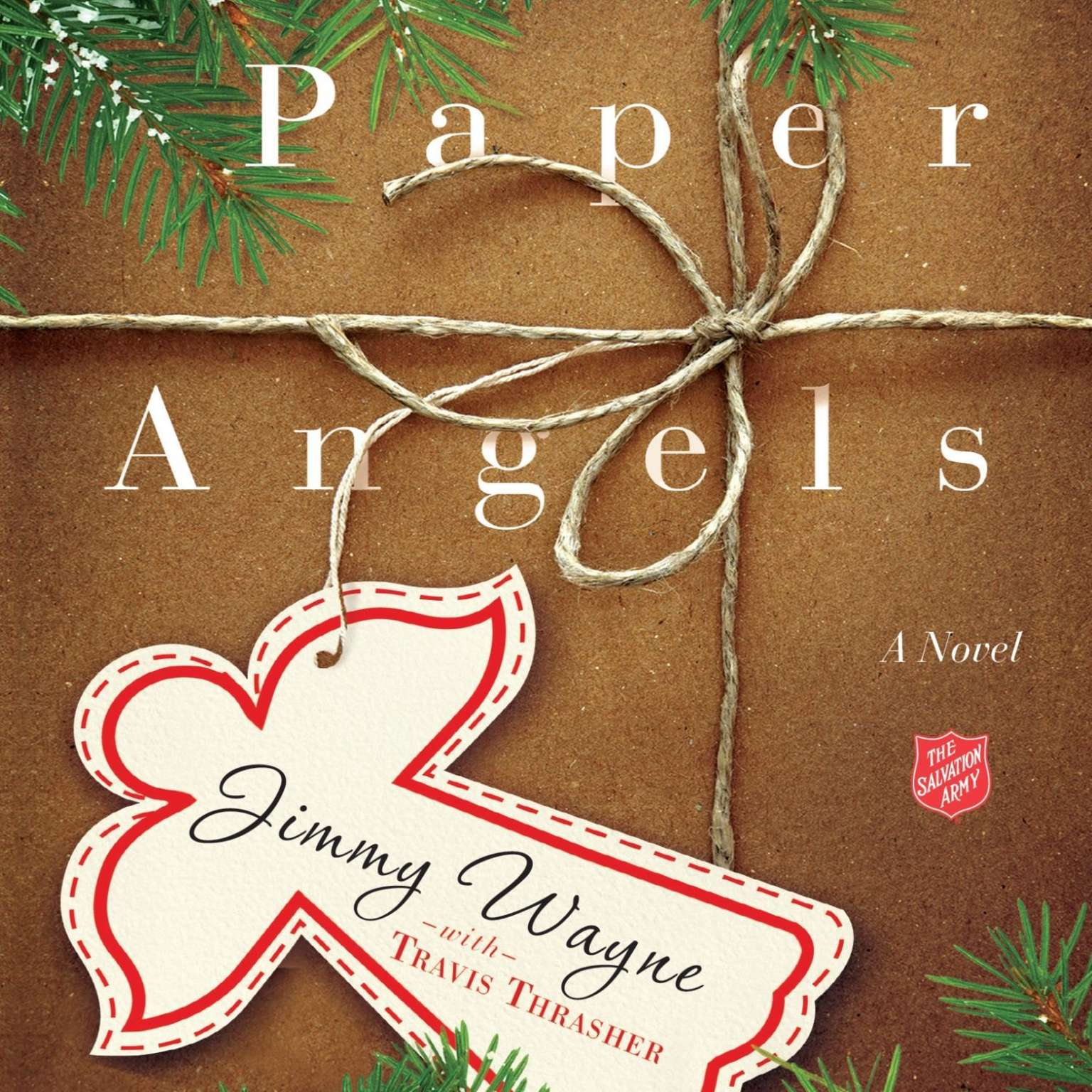 Printable Paper Angels: A Novel Audiobook Cover Art