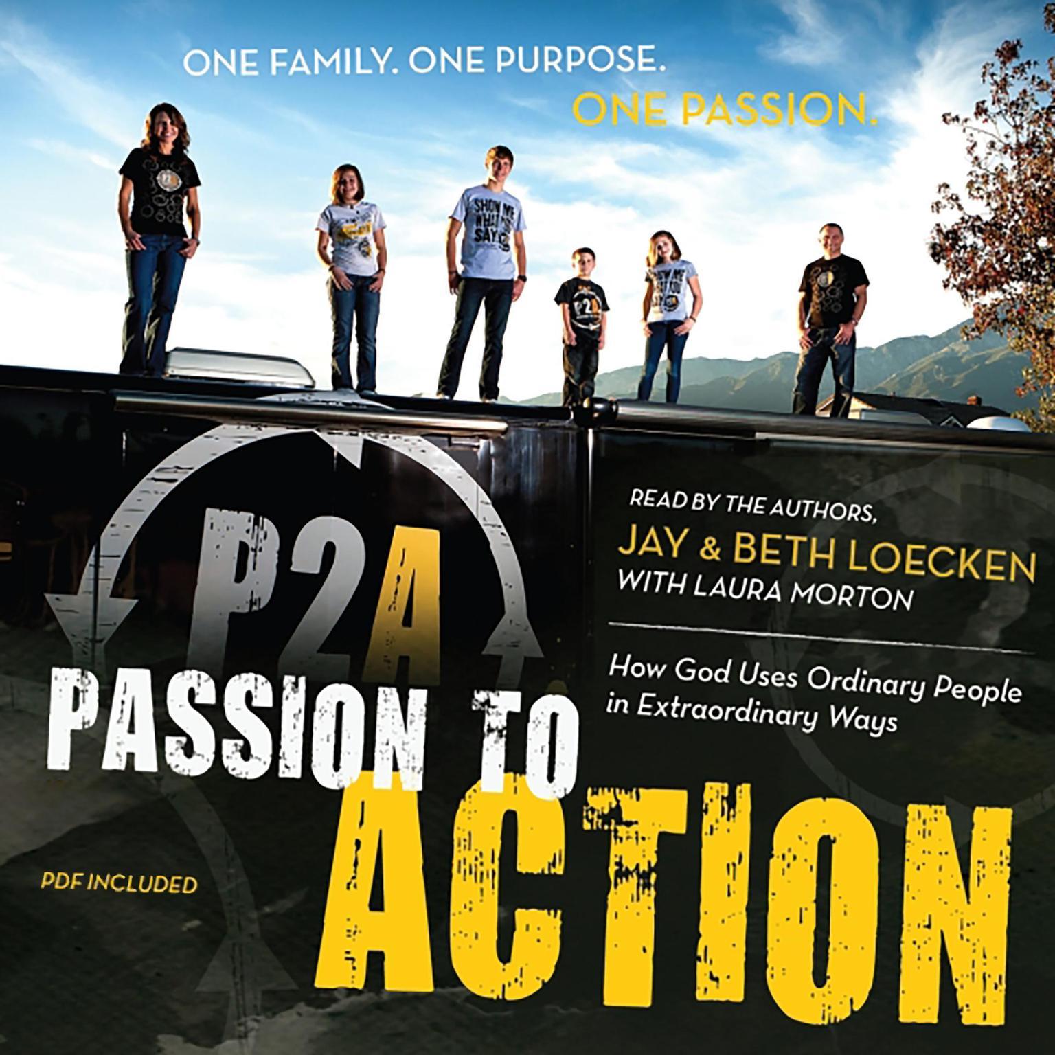 Printable Passion to Action: How God Uses Ordinary People in Extraordinary Ways Audiobook Cover Art