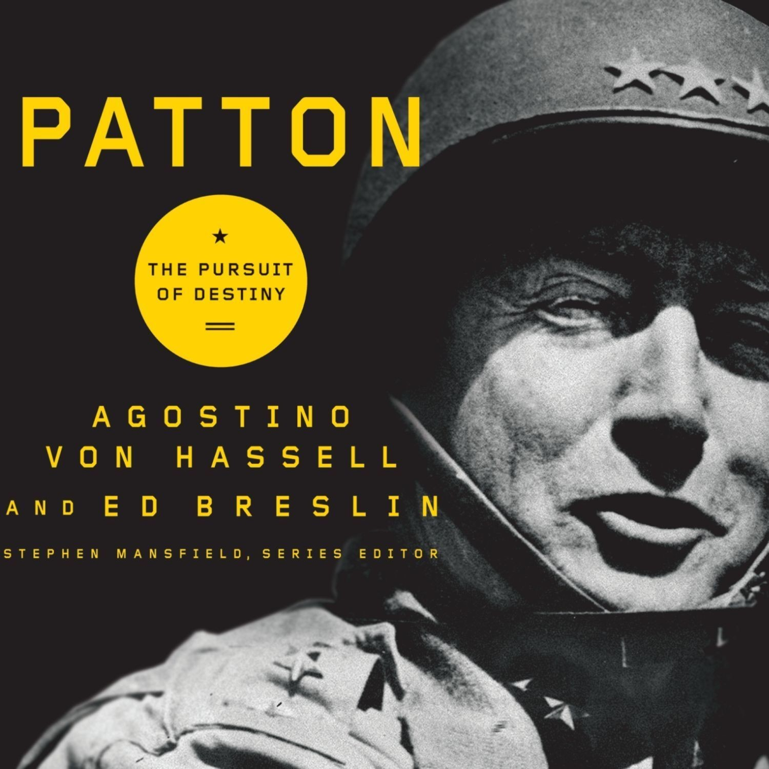 Printable Patton: The Pursuit of Destiny Audiobook Cover Art