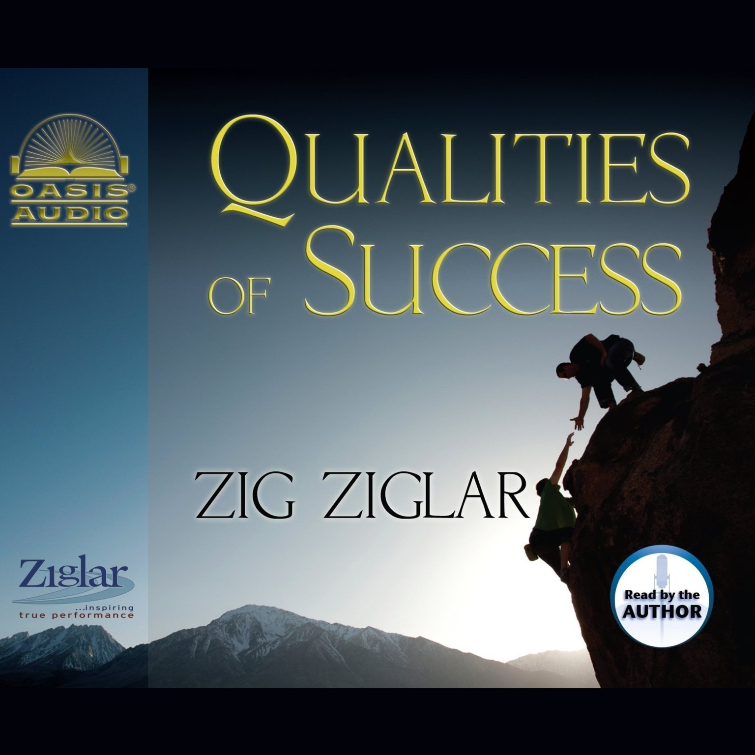 Printable Qualities of Success Audiobook Cover Art