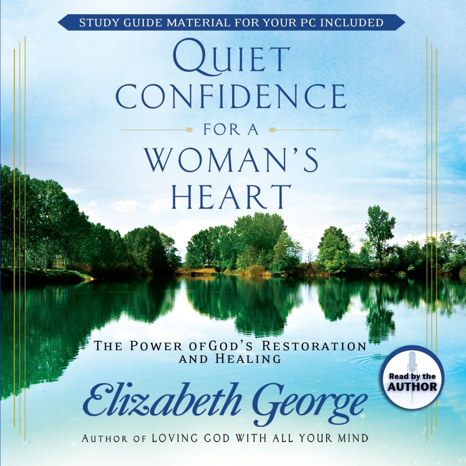 Printable Quiet Confidence for a Woman's Heart Audiobook Cover Art