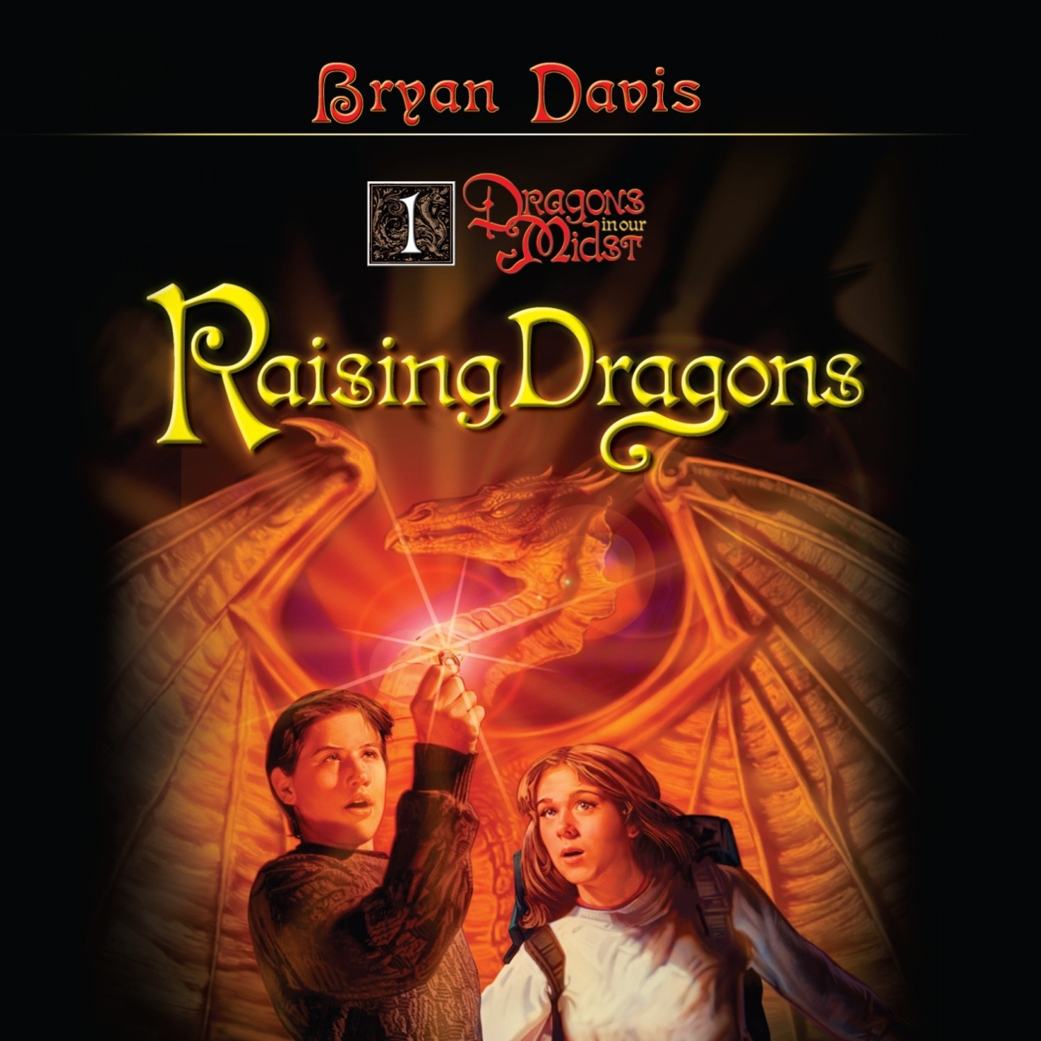 Printable Raising Dragons Audiobook Cover Art
