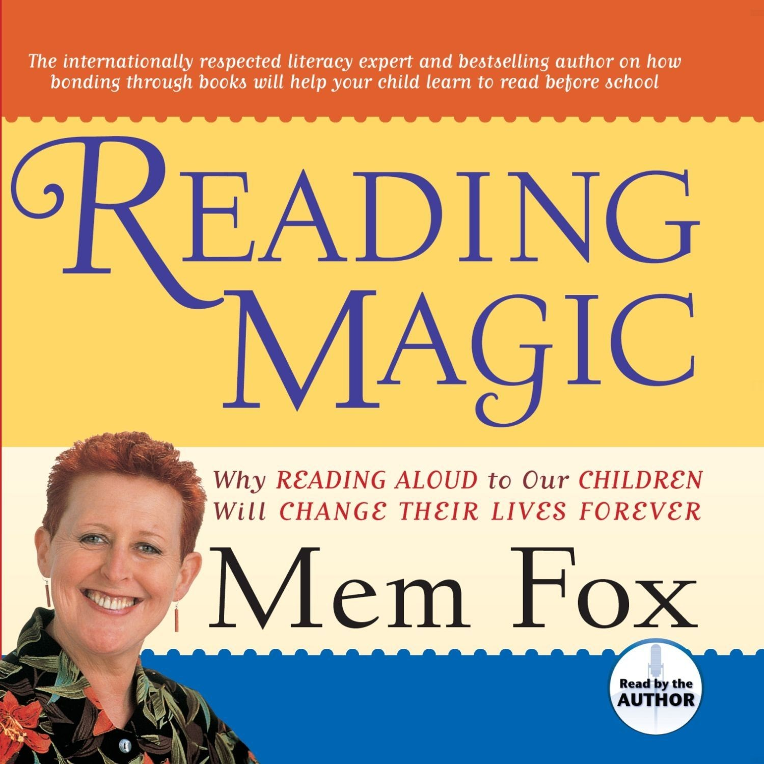 Printable Reading Magic: Why Reading Aloud to Our Children Will Change Their Lives Audiobook Cover Art