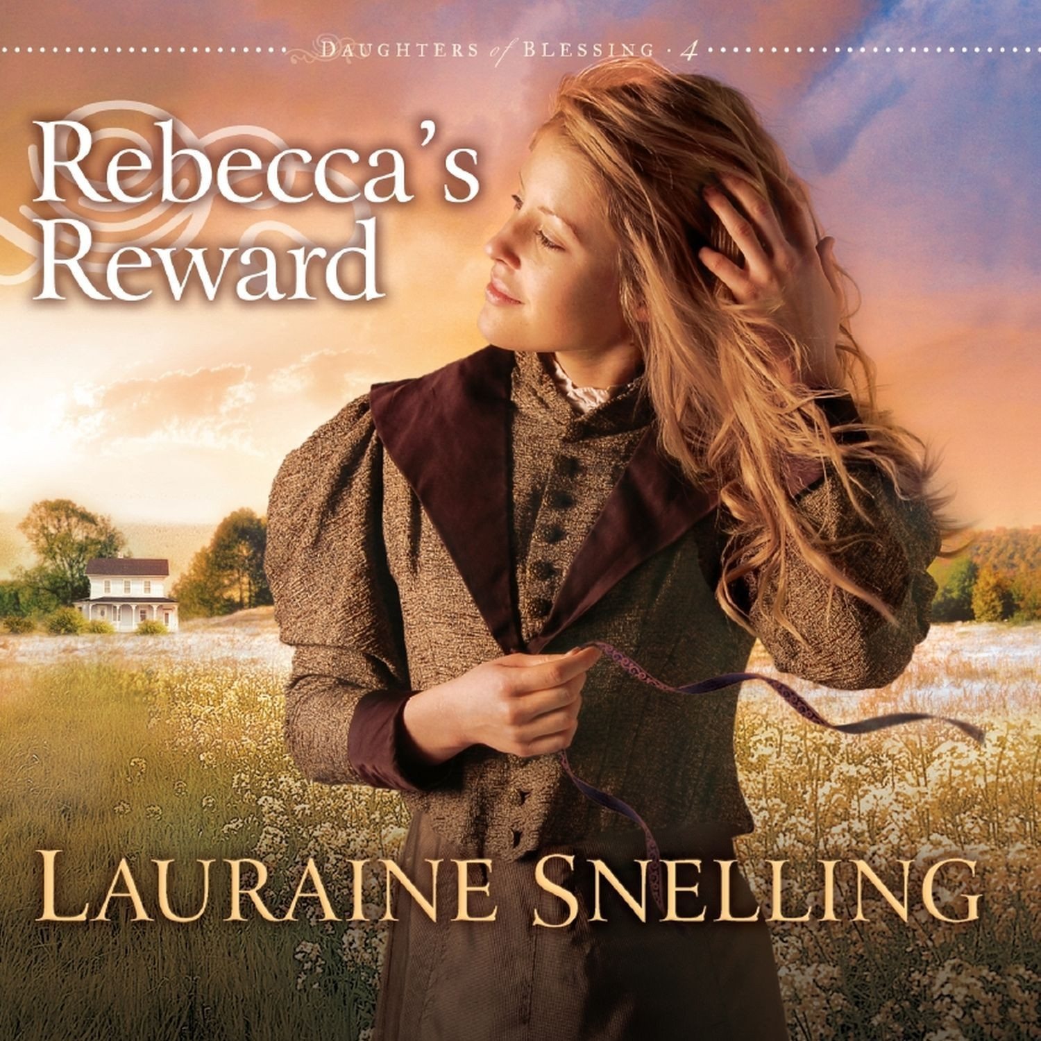 Printable Rebecca's Reward Audiobook Cover Art