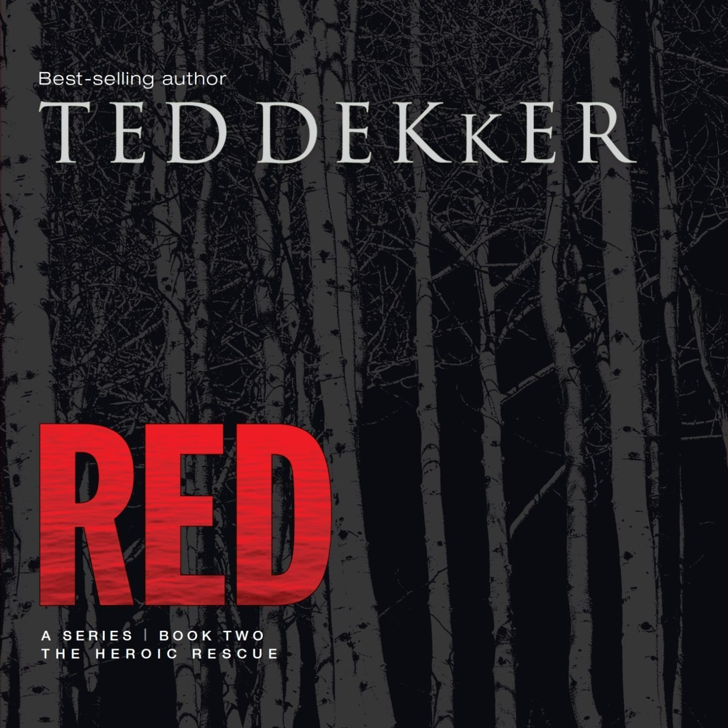 Printable Red Audiobook Cover Art