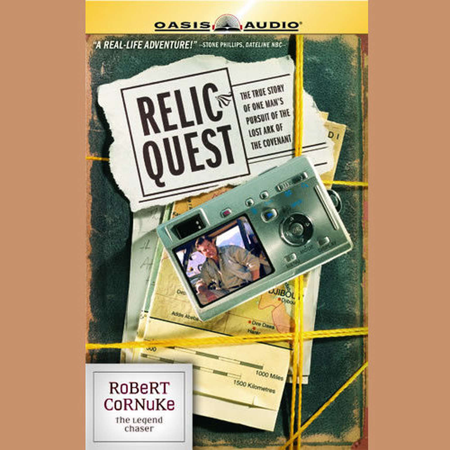 Printable Relic Quest Audiobook Cover Art