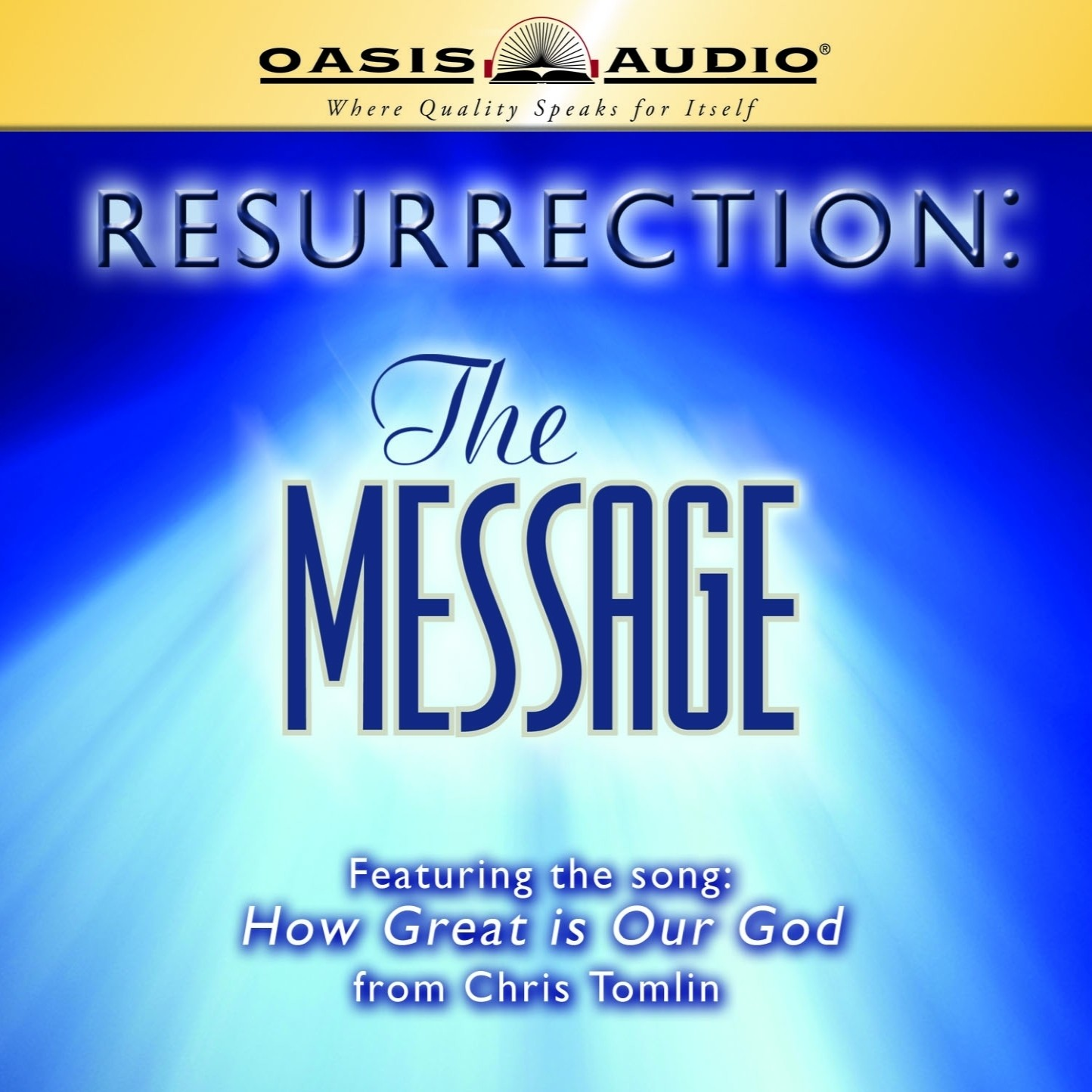 Printable Resurrection: The Message Audiobook Cover Art
