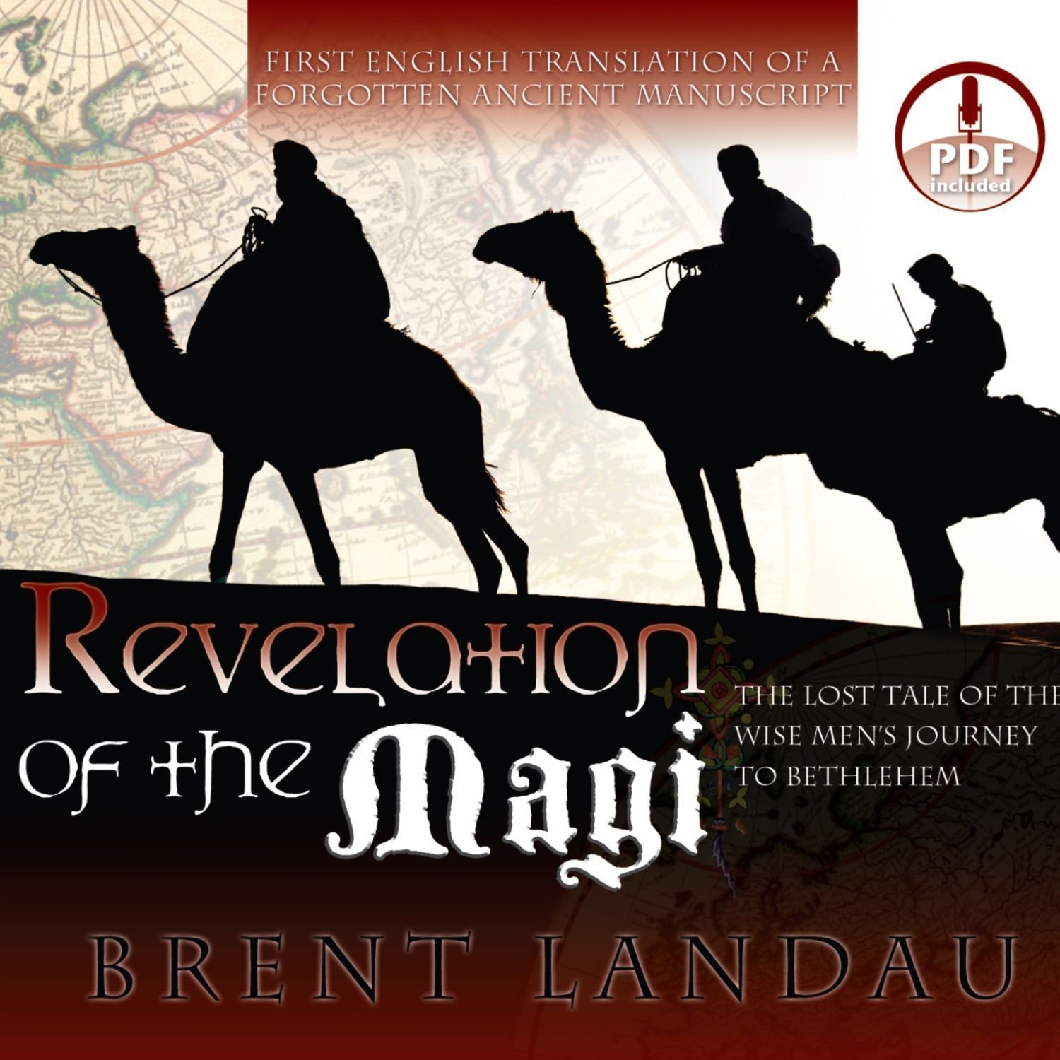 Printable Revelation of the Magi: The Lost Tale of the Wise Men's Journey to Bethlehem Audiobook Cover Art