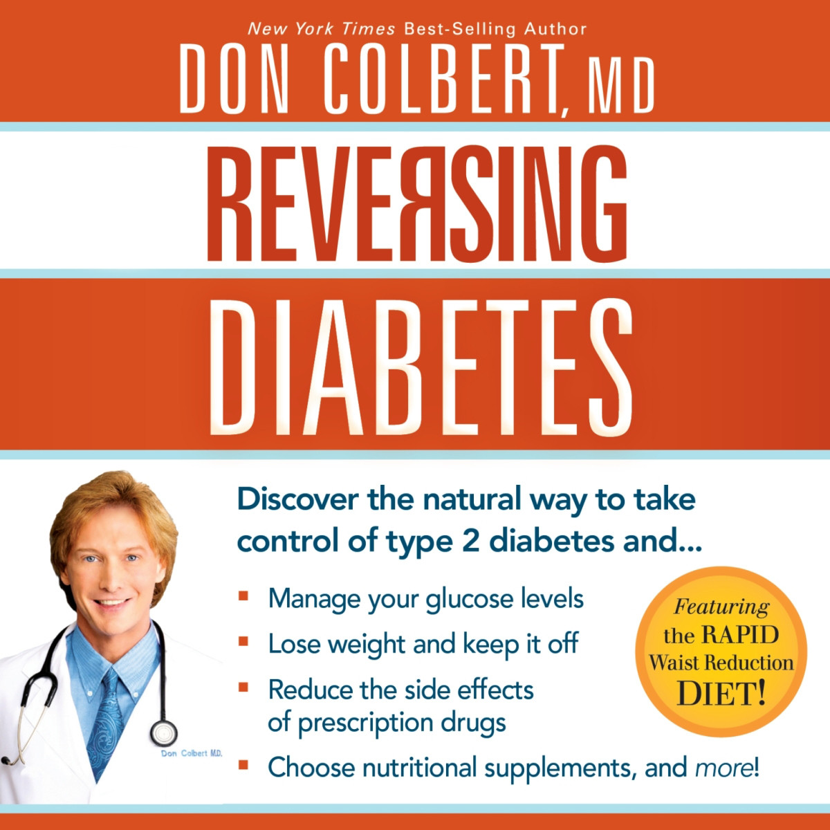 Printable Reversing Diabetes: Discover the Natural Way to Take Control of Type 2 Diabetes Audiobook Cover Art