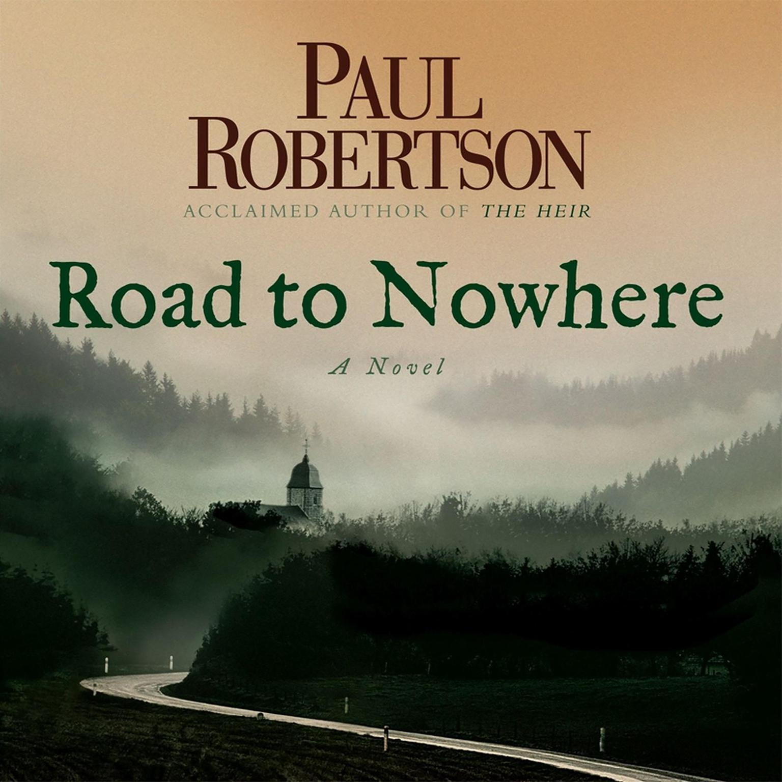 Printable Road to Nowhere Audiobook Cover Art