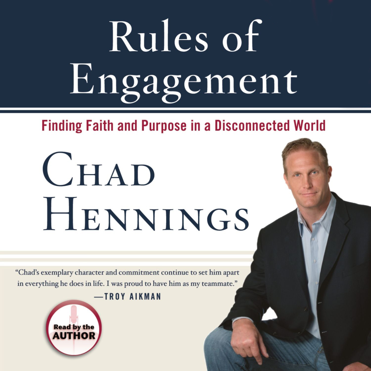 Printable Rules of Engagement: Finding Faith and Purpose in a Disconnected World Audiobook Cover Art