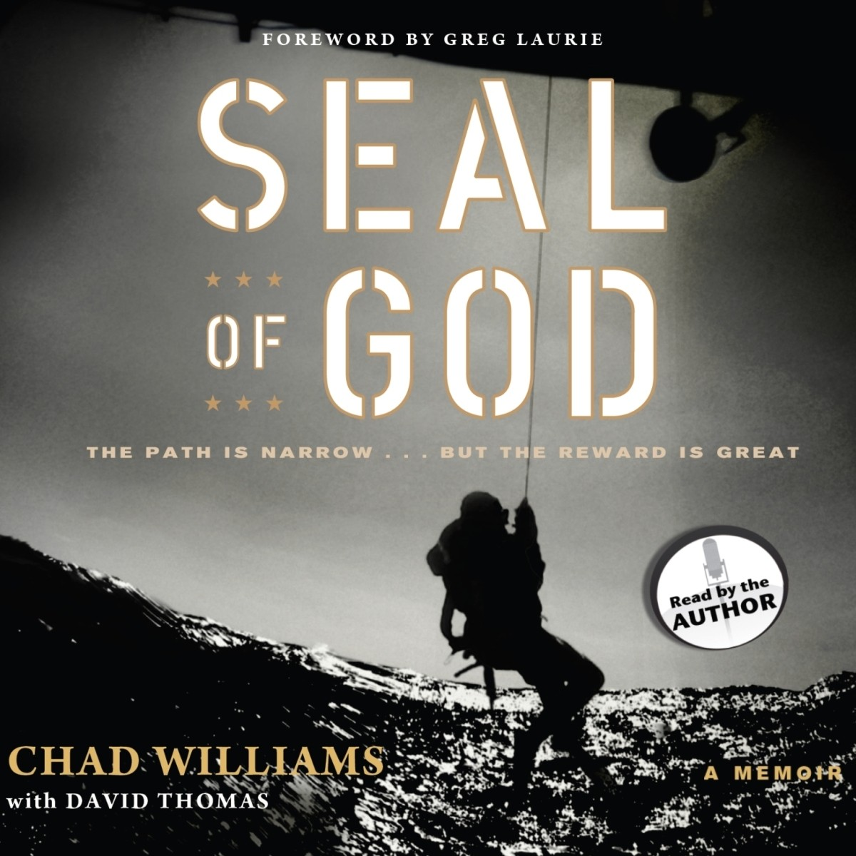 Printable SEAL of God Audiobook Cover Art