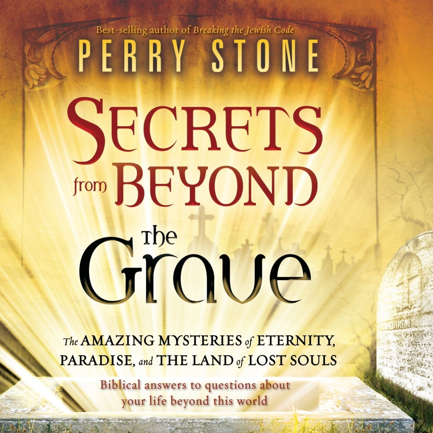 Printable Secrets from Beyond the Grave Audiobook Cover Art