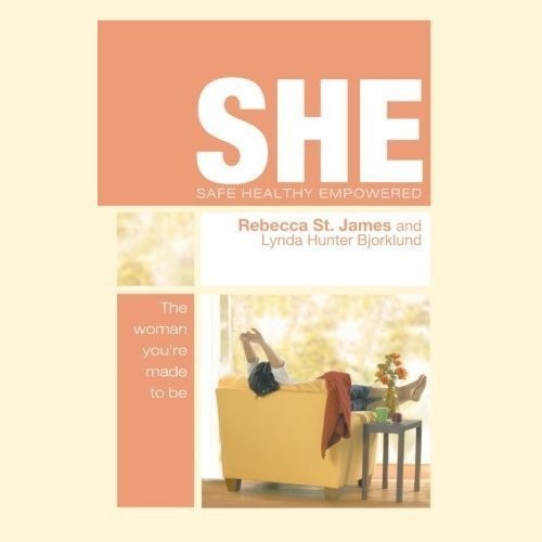 Printable SHE: Safe, Healthy, & Empowered Audiobook Cover Art