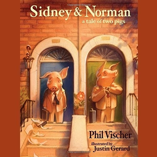 Printable Sidney & Norman: A Tale of Two Pigs Audiobook Cover Art