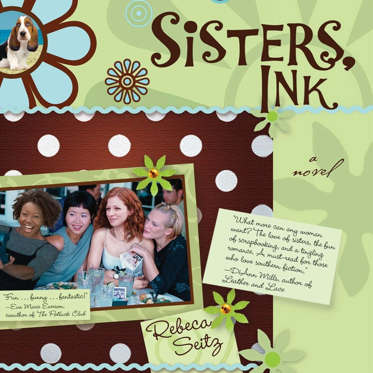 Printable Sisters, Ink Audiobook Cover Art