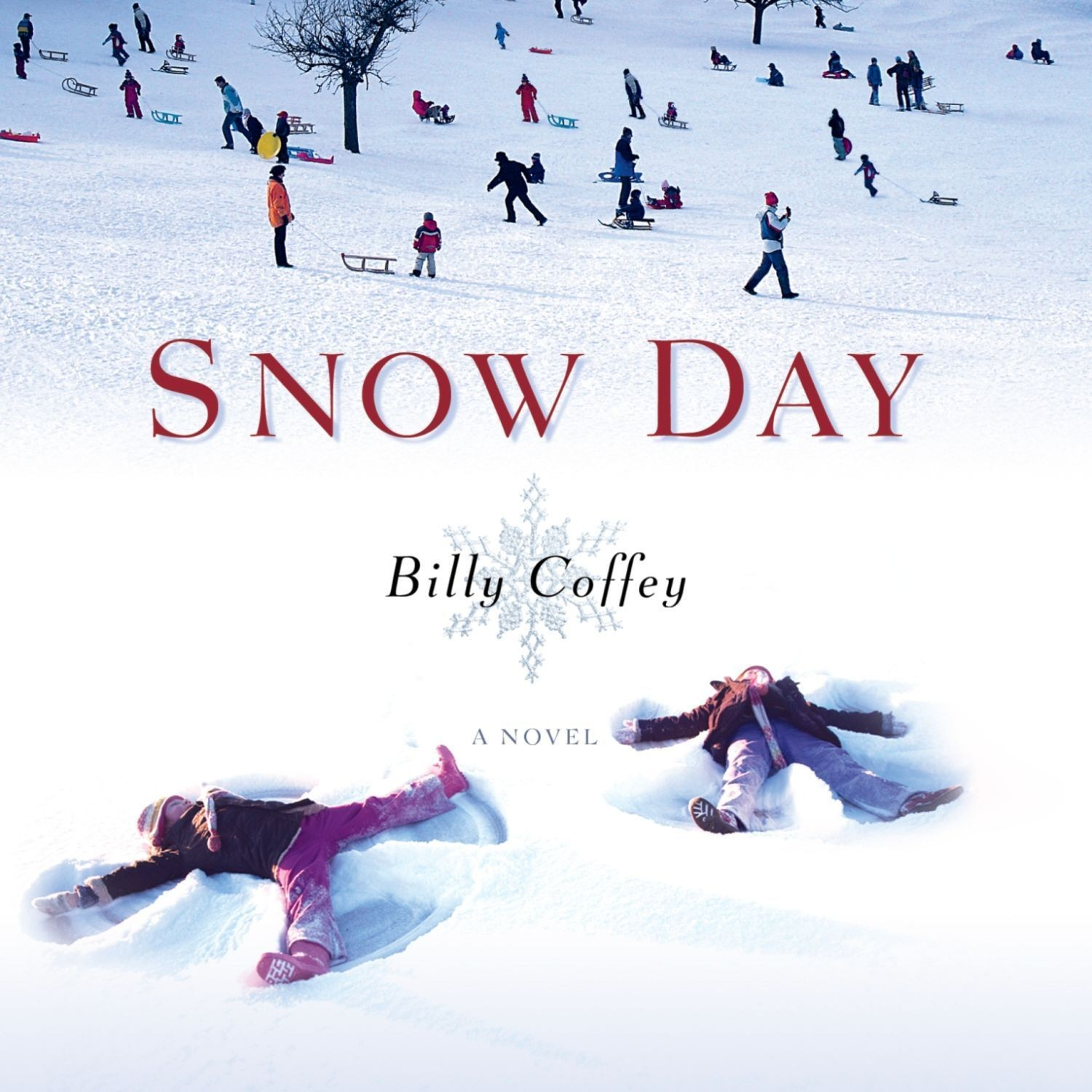 Printable Snow Day: A Novel Audiobook Cover Art