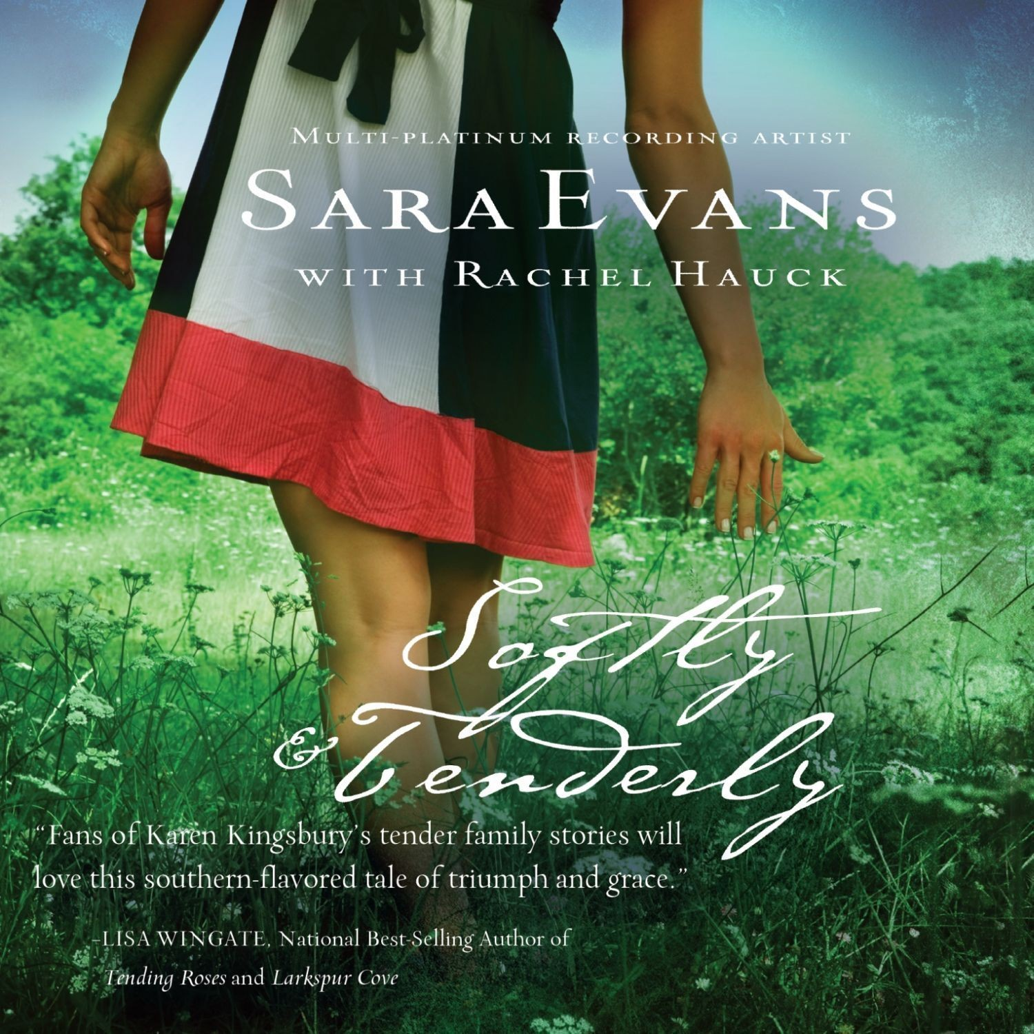 Printable Softly and Tenderly Audiobook Cover Art