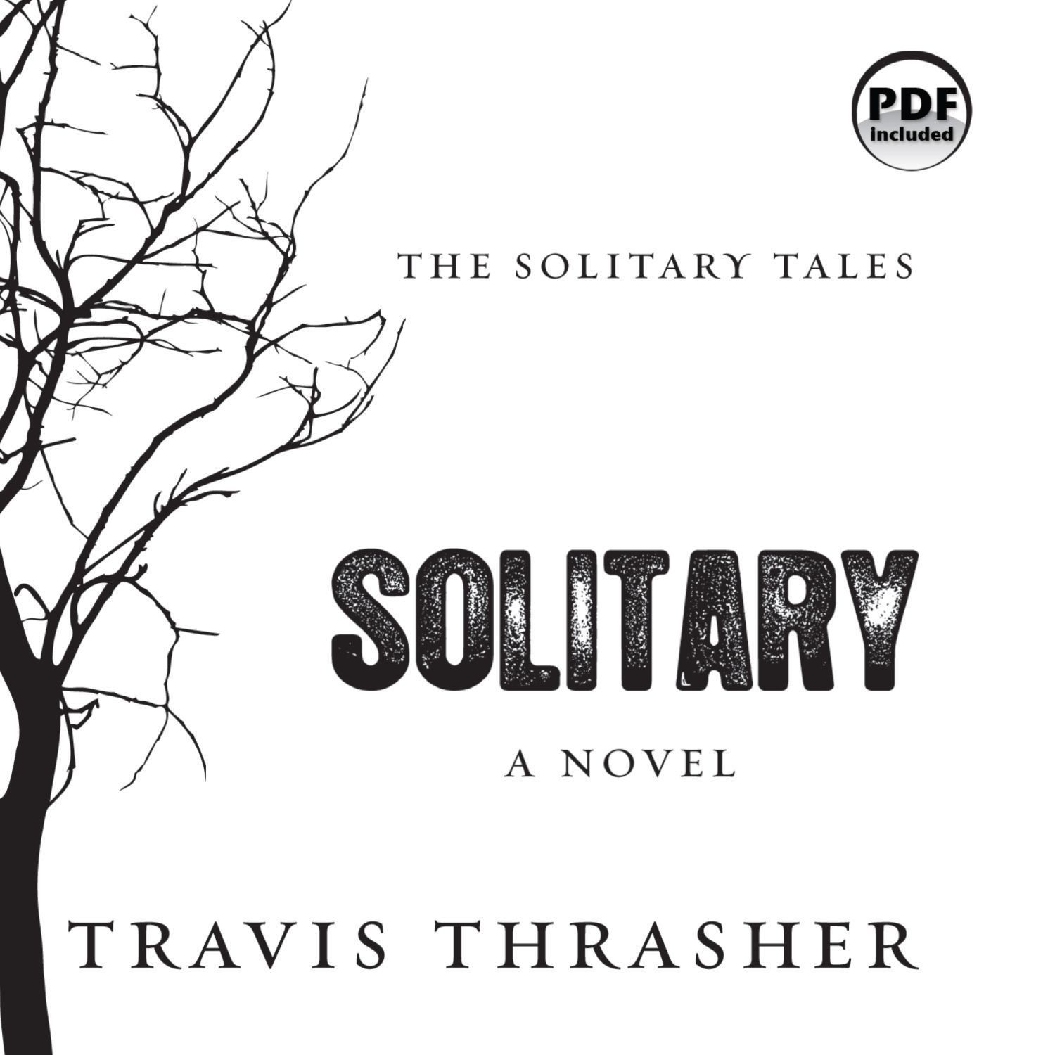 Printable Solitary: A Novel Audiobook Cover Art