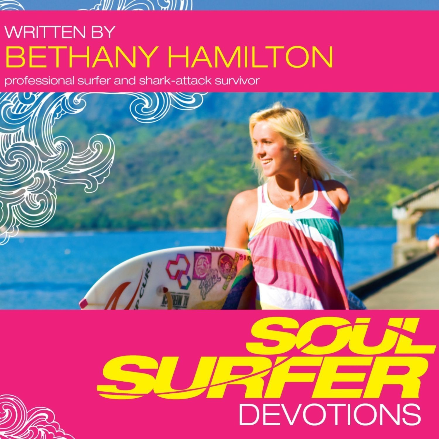 Printable Soul Surfer Devotions Audiobook Cover Art