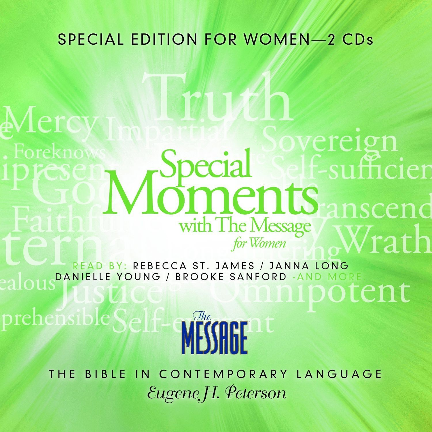 Printable Special Moments with The Message for Women Audiobook Cover Art