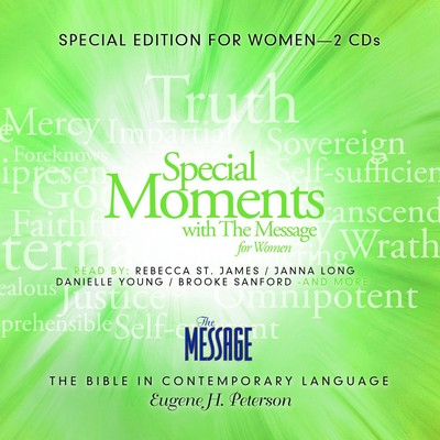 Special Moments with the Message for Women Audiobook, by Eugene H. Peterson