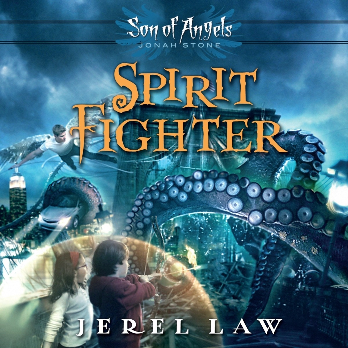 Printable Spirit Fighter Audiobook Cover Art