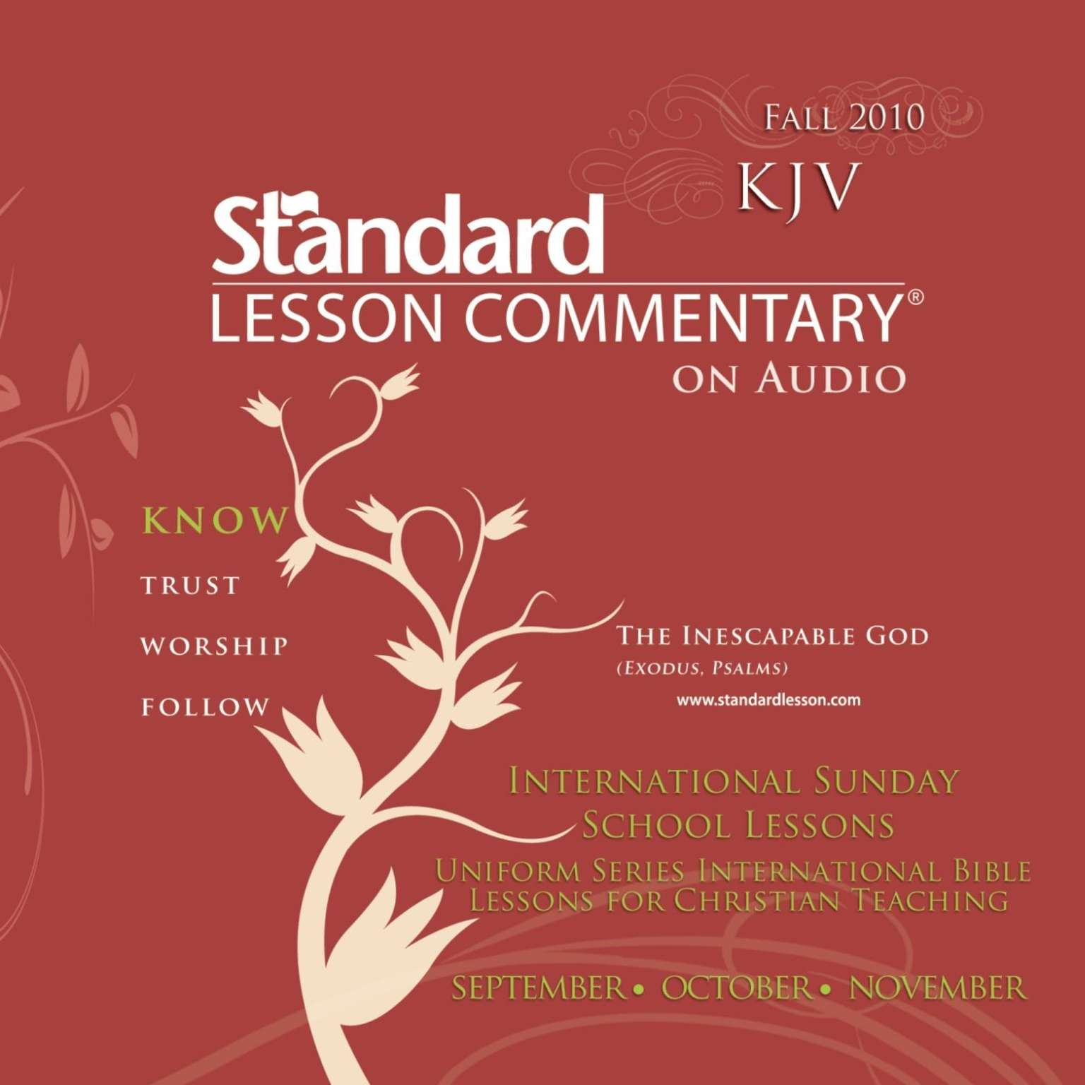 Printable Standard Lesson Commentary (Fall 2010) Audiobook Cover Art