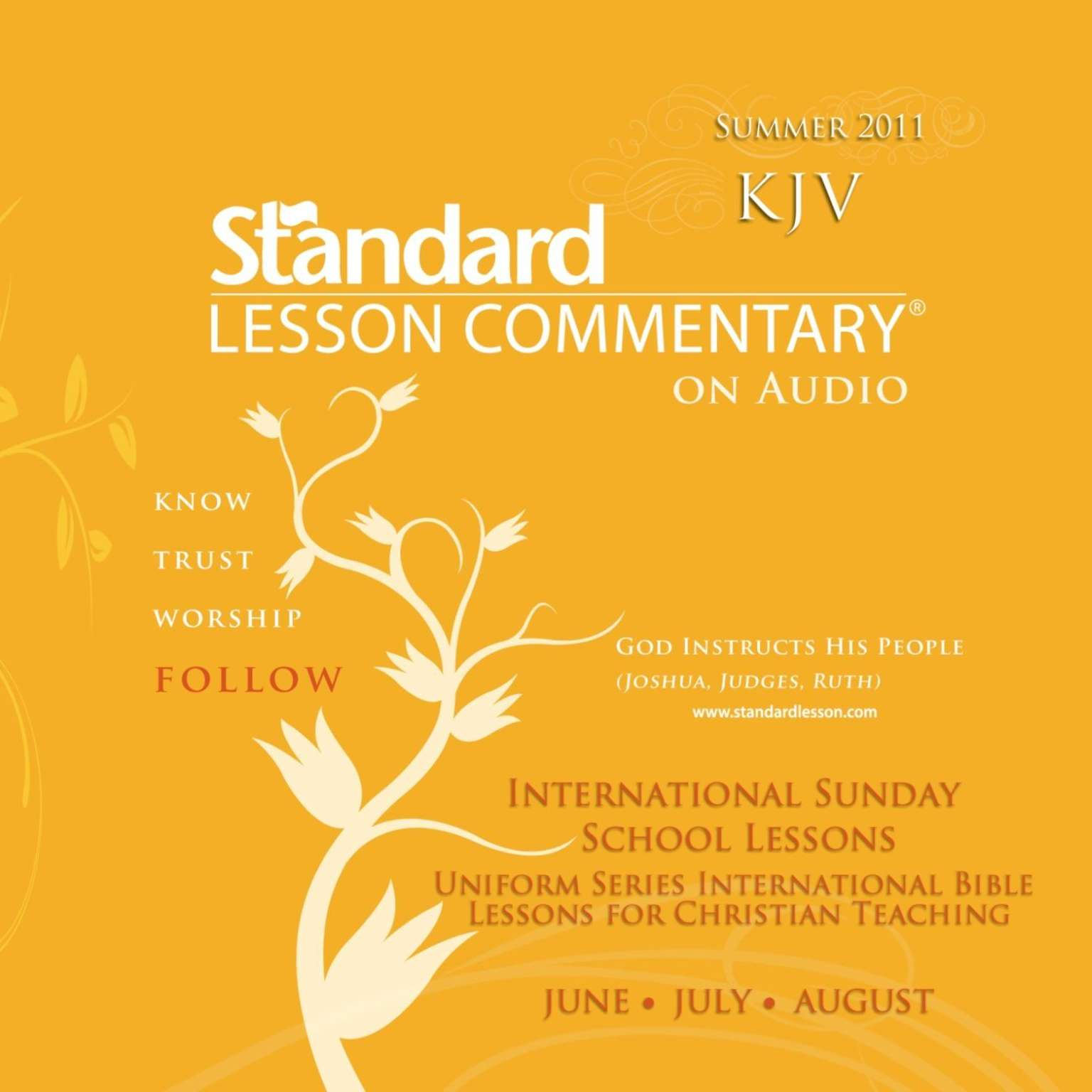 Printable Standard Lesson Commentary (Summer 2011) Audiobook Cover Art
