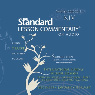 Standard Lesson Commentary (Winter 2010-2011) Audiobook, by Standard Publishing Company