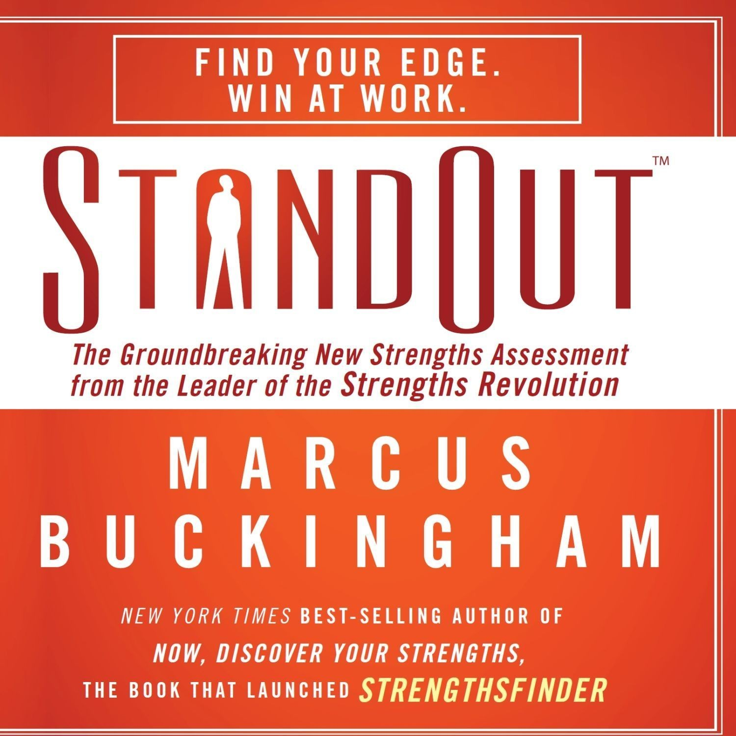 Printable StandOut: The Groundbreaking New Strengths Assessment from the Leader of the Strengths Revolution Audiobook Cover Art