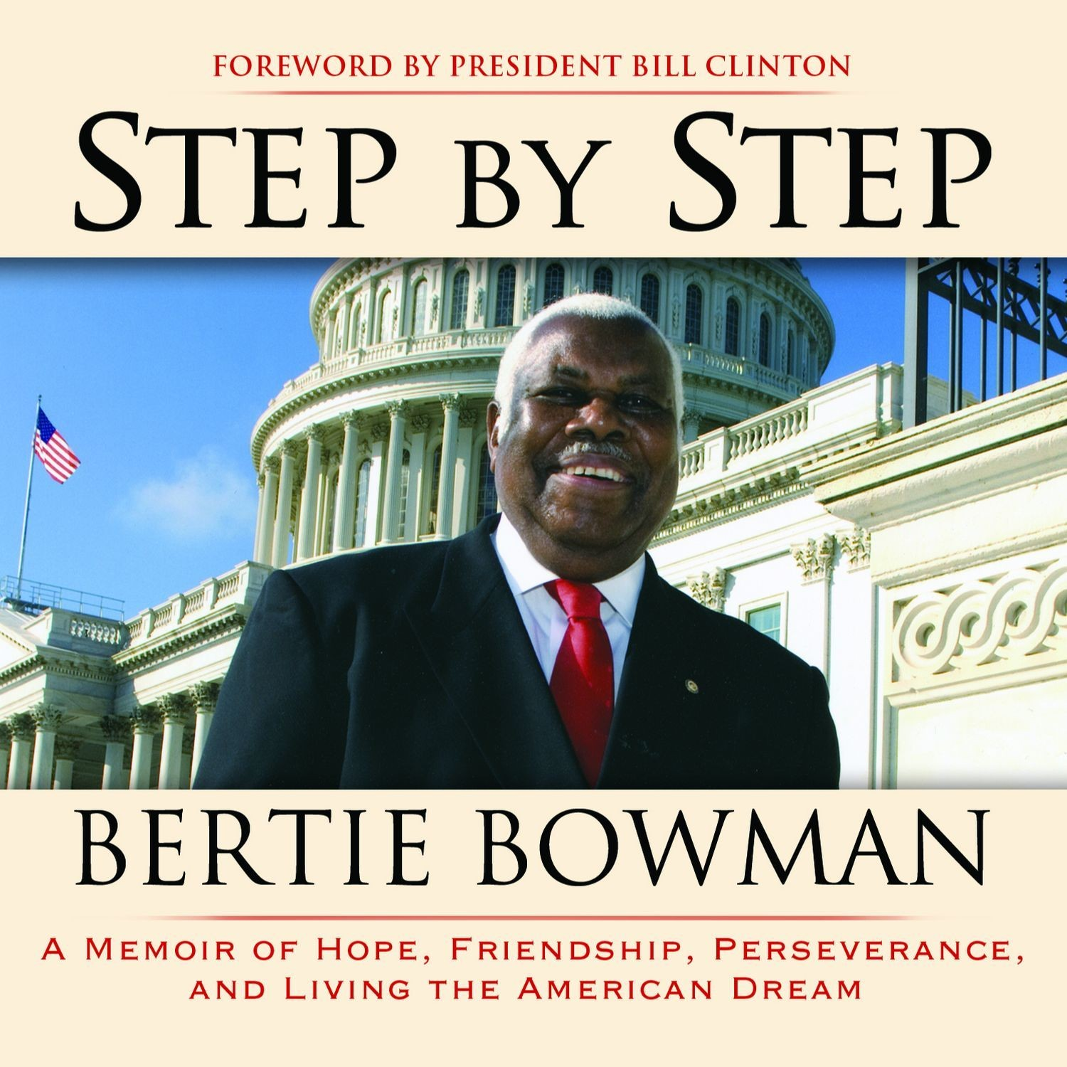 Printable Step by Step: A Memoir of Hope, Friendship, Perserverance, and Living the American Dream Audiobook Cover Art