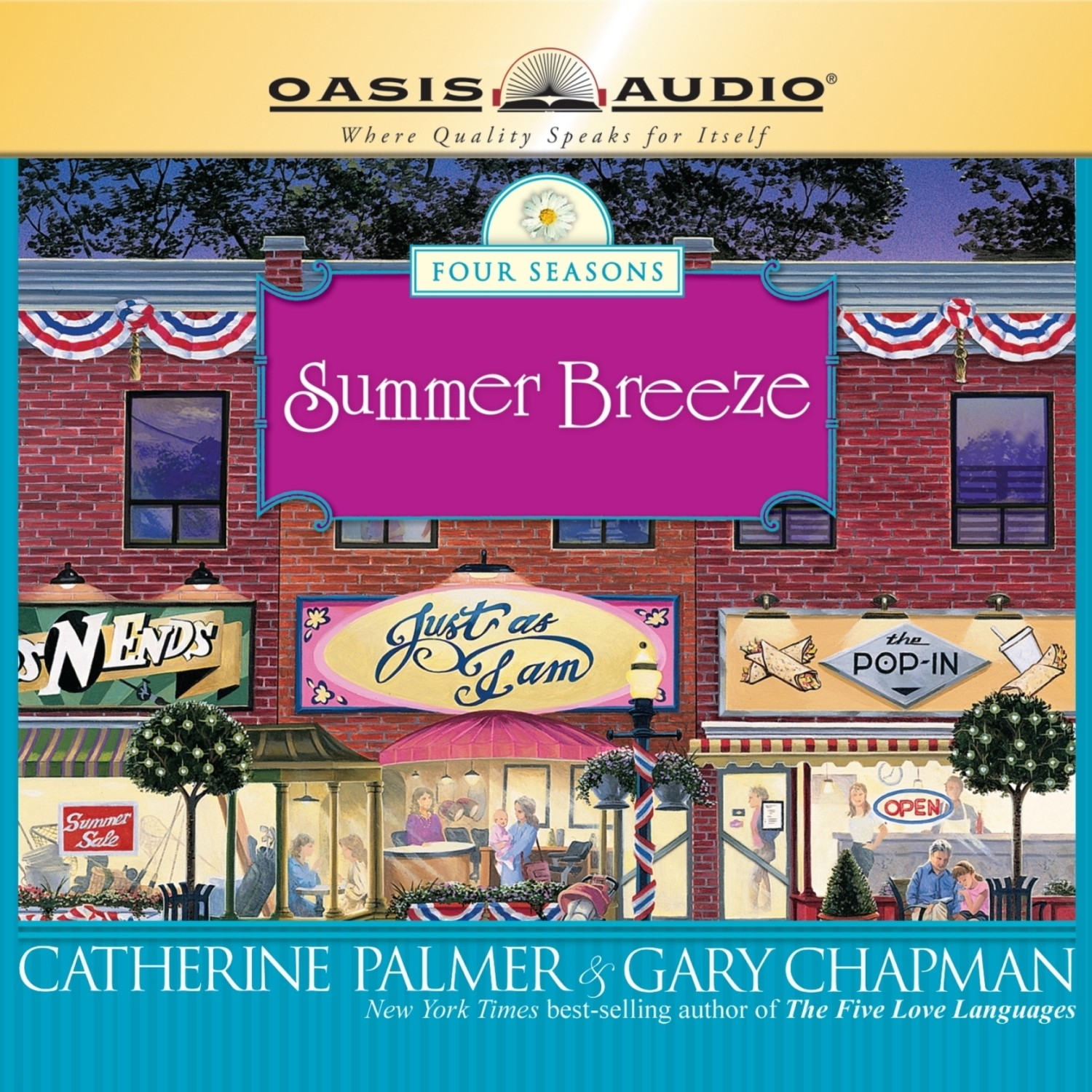 Printable Summer Breeze Audiobook Cover Art