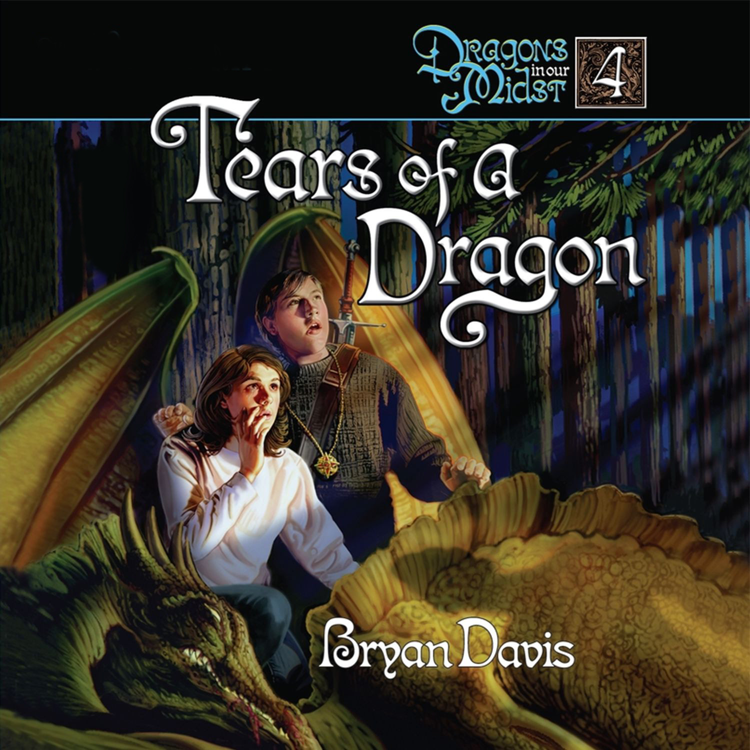 Printable Tears of a Dragon Audiobook Cover Art
