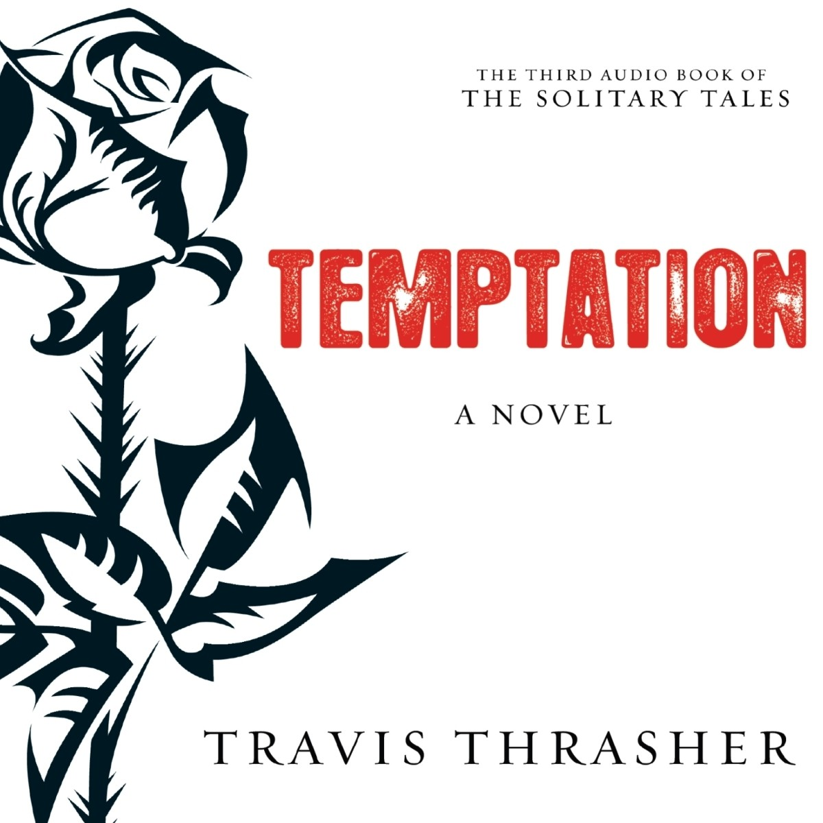 Printable Temptation: A Novel Audiobook Cover Art