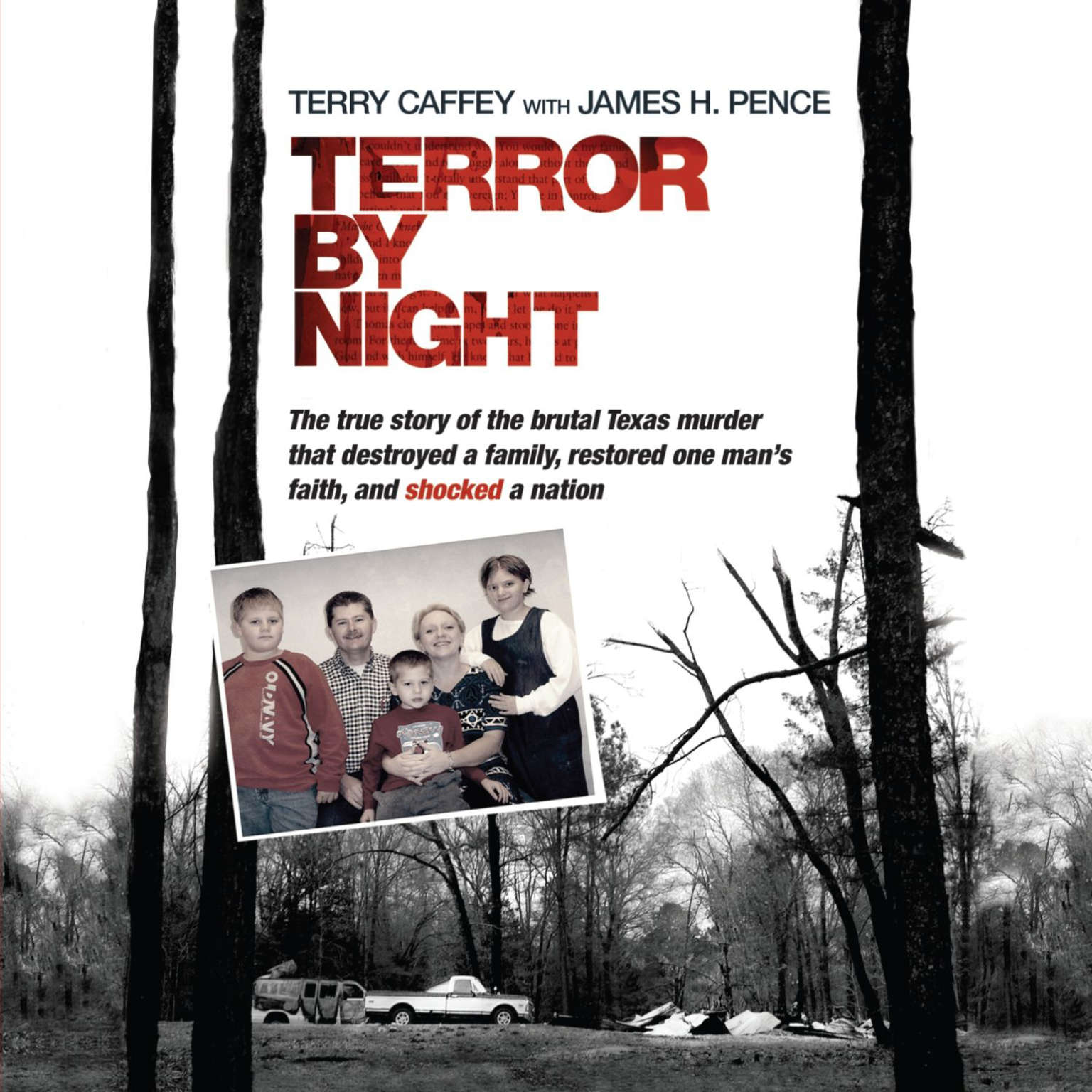 Printable Terror by Night: The True Story of the Brutal Texas Murder That Destroyed a Family, Restored One Man's Faith, and Shocked a Nation Audiobook Cover Art