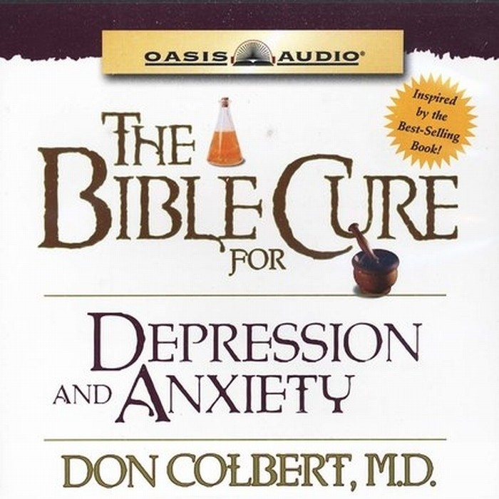 Printable The Bible Cure for Depression and Anxiety: Ancient Truths, Natural Remedies, and the Latest Findings for Your Health Today Audiobook Cover Art