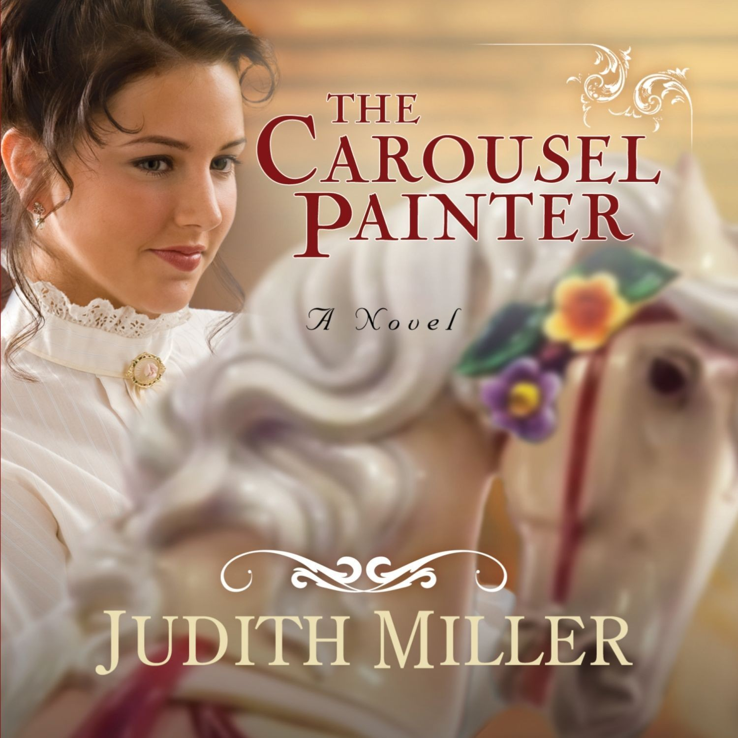 Printable The Carousel Painter Audiobook Cover Art