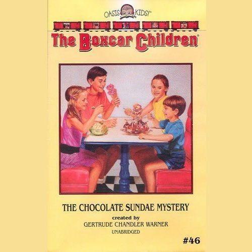 Printable The Chocolate Sundae Mystery Audiobook Cover Art