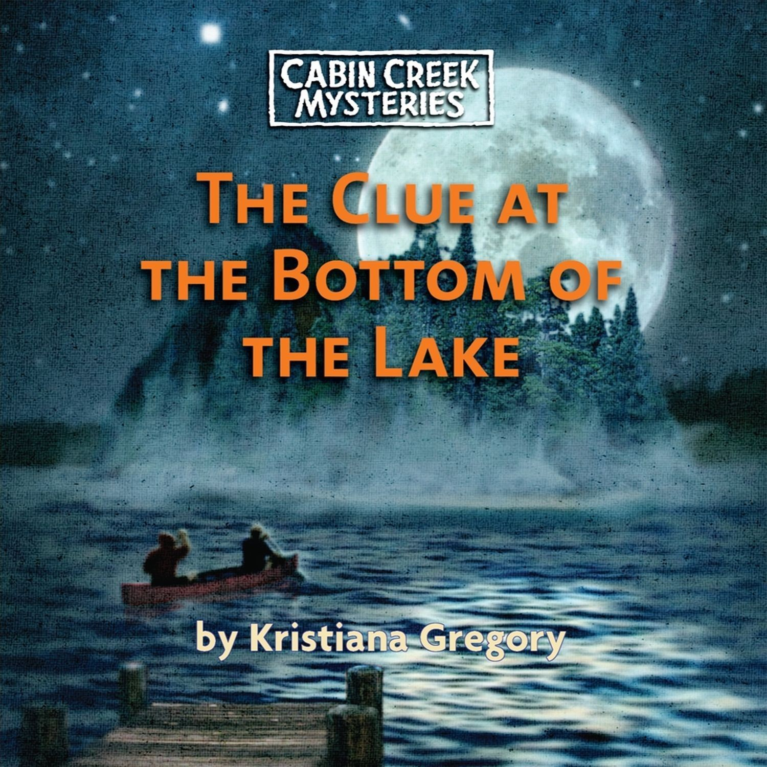 Printable The Clue at the Bottom of the Lake Audiobook Cover Art