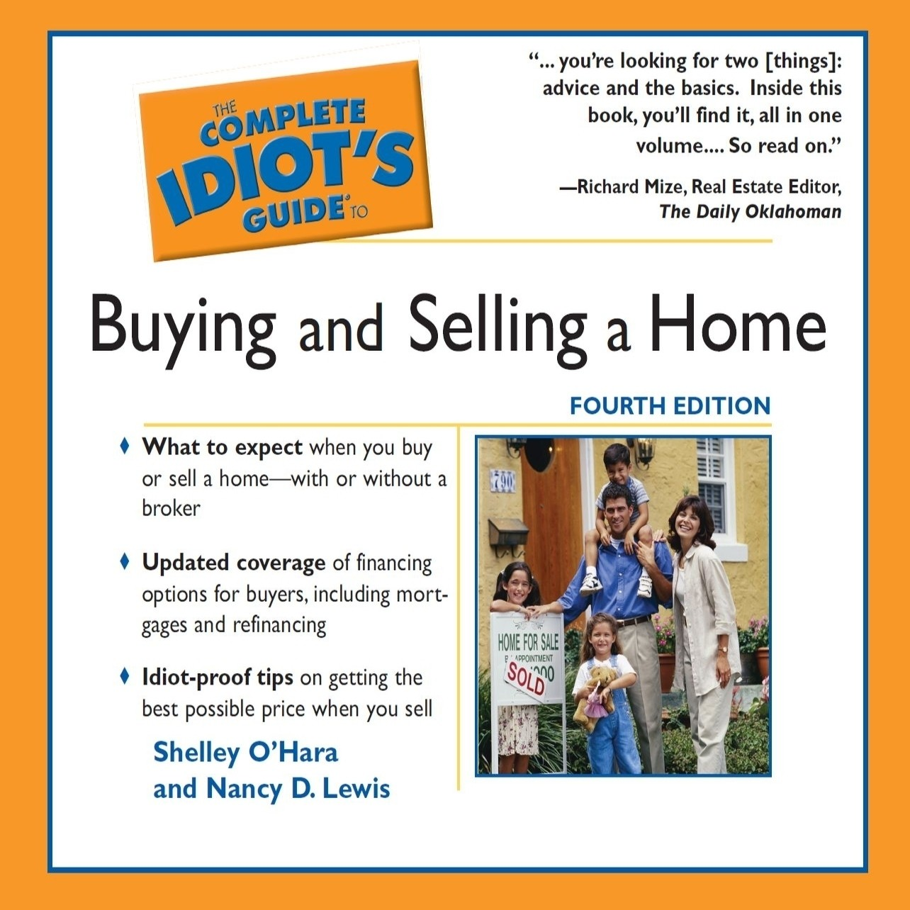 Printable The Complete Idiot's Guide To Buying and Selling a Home Audiobook Cover Art