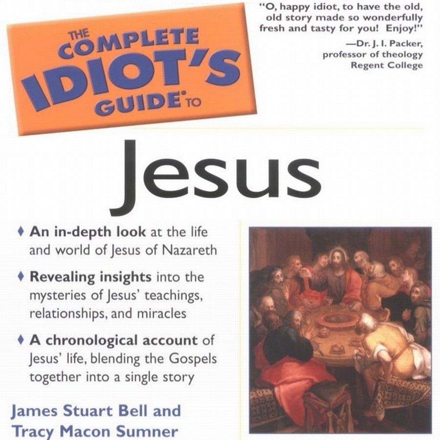 Printable The Complete Idiot's Guide to Jesus Audiobook Cover Art