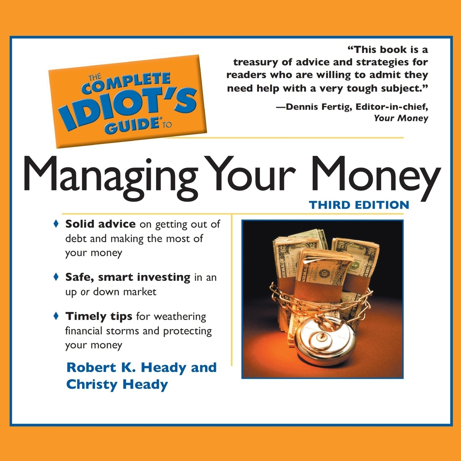 The idiots guide to managing your money